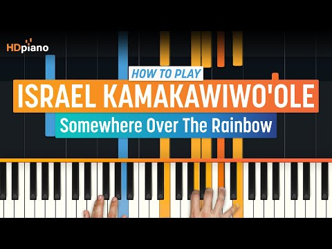"""How To Play """"Somewhere Over The Rainbow"""" by Israel Kamakawiwo'ole 