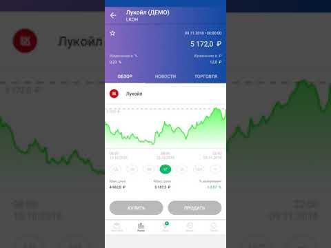 Знакомство с приложением Сбербанк инвестор,  рост капитала на 4.5% за 12 дней, ДЕМО счет