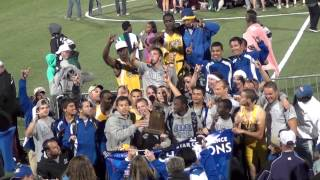 Angelo State University Track Teams Celebrate Lone Star Conference Track Championships 2013