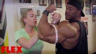 Bodybuilding Phil Heath Massive Triceps Workout 23 Inch ...  Bodybuilding Ph...