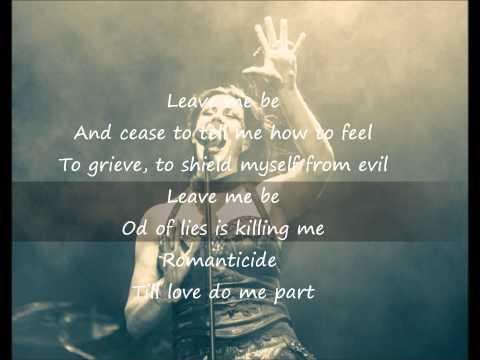 Nightwish - Romanticide (Floor Jansen Version) - Lyrics