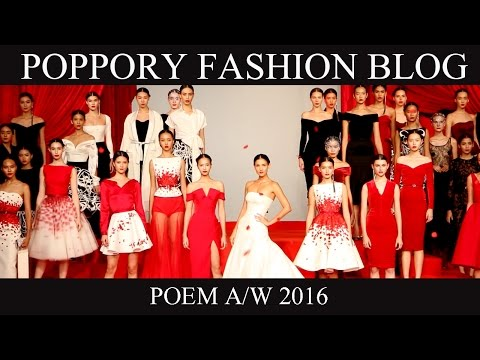 POEM | Autumn Winter 2016 | VDO BY POPPORY FASHION BLOG