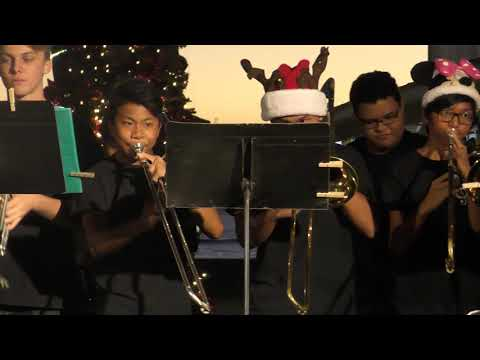 2018 Lahainaluna High School Jazz Band at Outlets of Maui