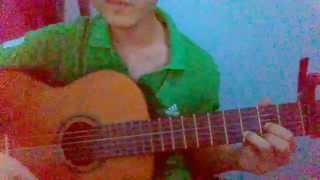 Thế giới ảo tình yêu thật guitar cover + tab