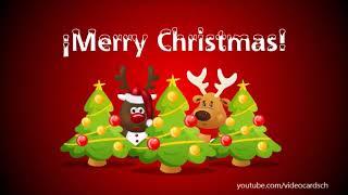 Christmas Animated Greeting Cards, Merry Christmas card 🎄🌟🎅 (FUNNY)