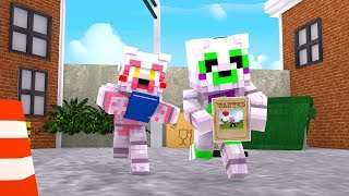 Nightmare Mangle Finally Gets Rid of Mangle?! (Minecraft Daycare Roleplay)