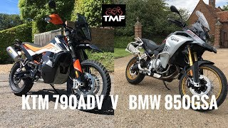 What's best? KTM 790 Adventure R or BMW F850GS Adventure?