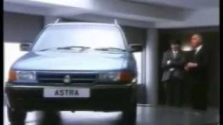 Vaxhuall cars UK tv advertisements from 1980-19090s