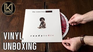 The Notorious B.I.G. – Ready To Die Vinyl Unboxing | KurVibes