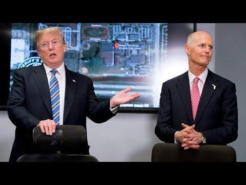 Trump criticizes FBI over handling of Florida mass shooting