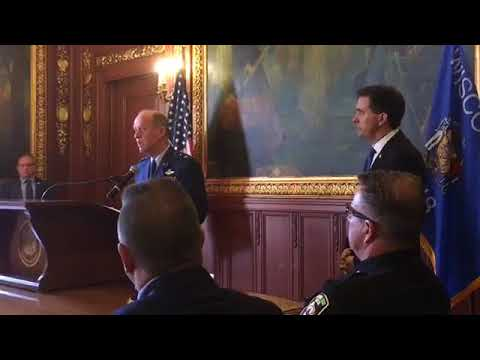 News Conference: Governor Walker Participates in 2016 Homeland Security Annual Report Signing