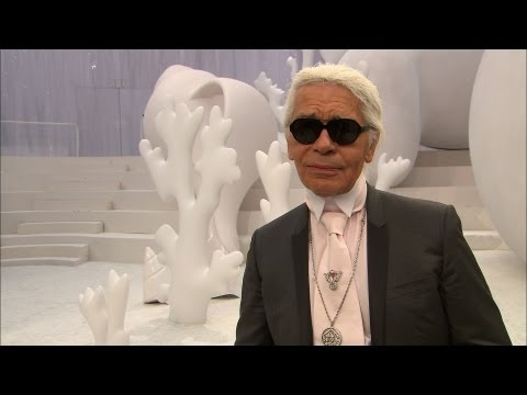 Spring-Summer 2012 Ready-to-Wear: Karl Lagerfeld's Interview - CHANEL