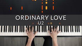 U2 - Ordinary Love | Tutorial of my Piano Cover видео