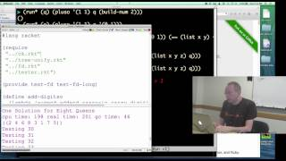 Relational Programming in miniKanren by William Byrd, Part 1/2