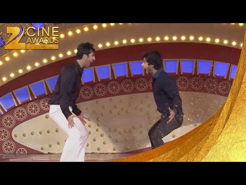 Zee Cine Awards 2012 Shahid and Ranbir Performing at ZCA 2012