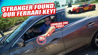 JIMBO LOST OUR FERRARI KEY WITHIN 24HRS! *YOU WOULDN'T BELIEVE HOW HE GOT IT BACK*