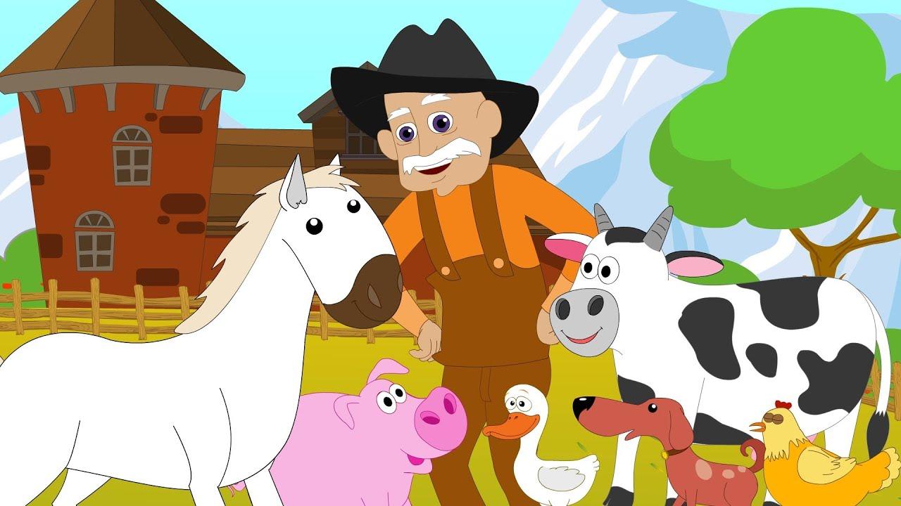 Old Macdonald Had A Farm Kids Tv Nursery Rhymes