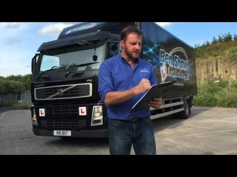 LGV Driver CPC Demonstration Video