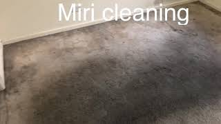Dirty carpet steam cleaning / Miri cleaning service