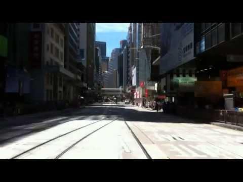 Timelapse Hong Kong Tramway (Des Voeux Road)