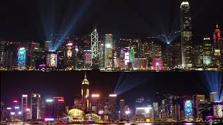 A Symphony of Lights ( 2018 winter edition) Hong Kong Island Testing 2018-11
