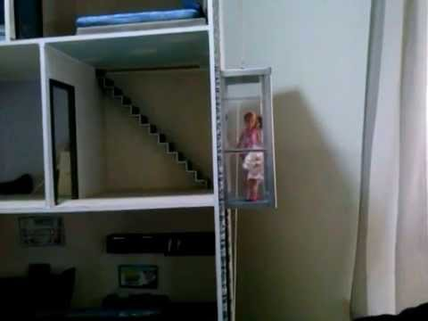 Ascensor casa barbie y keen youtube - Casa de barbie con ascensor ...