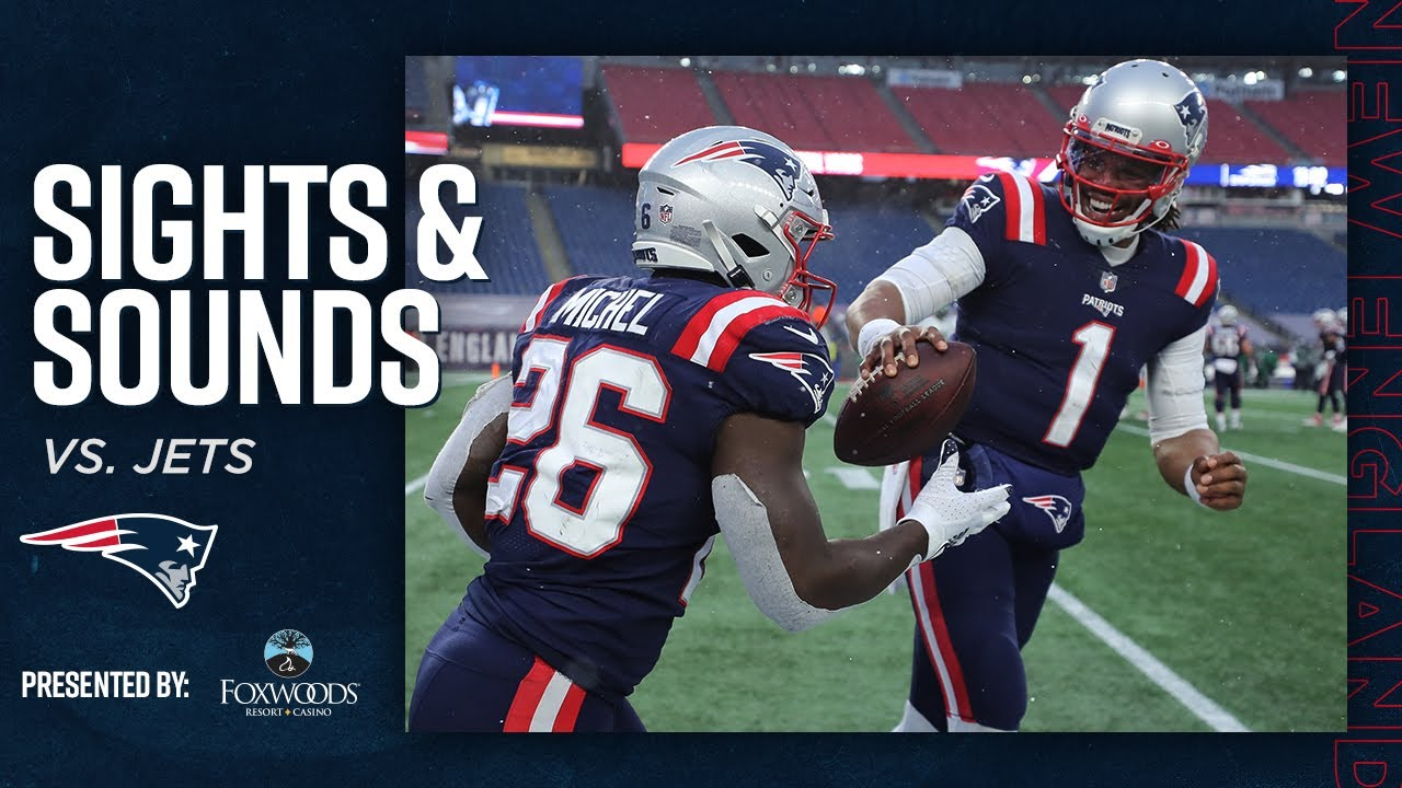 On the Sidelines of the Patriots Final Game of the Season | Mic'd Up vs. Jets (Sights & Sounds)