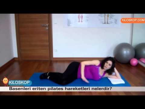 Basenleri eriten Pilates hareketleri nelerdir?
