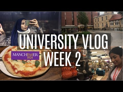 UNI VLOG #2 - My 'actual' Week At The University Of Manchester