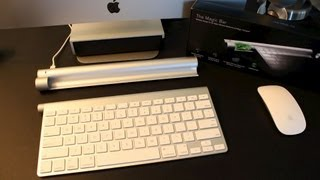 Mobee Magic Bar Review | Apple Wireless Keyboard & Magic Trackpad Charger & Dock | Pros & Cons