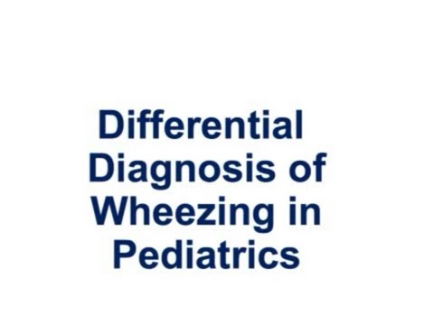 USMLE:  Medical Video Lectures about Wheezing in Pediatrics by UsmleTeam