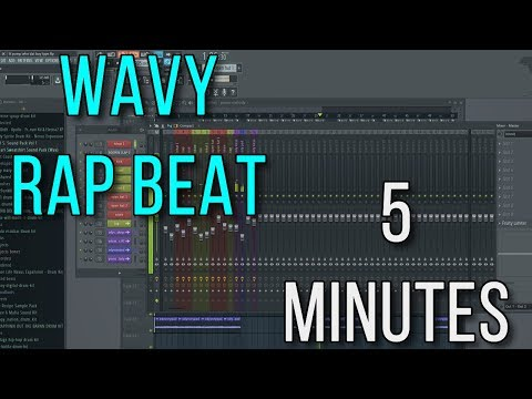 Wavy Rap Beat In Less Than 5 Minutes | FL Studio Rap Tutorial