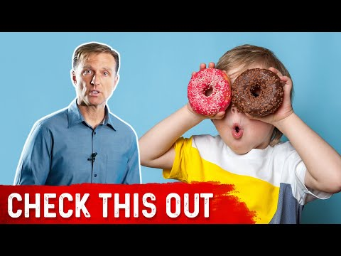 #1 Sign That Your Kid is Eating Too Much Sugar