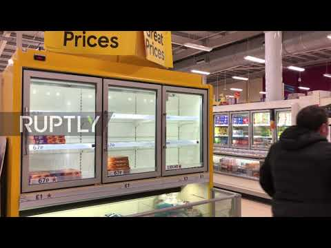 UK: Post-Brexit red tape leads to shortages in Belfast super