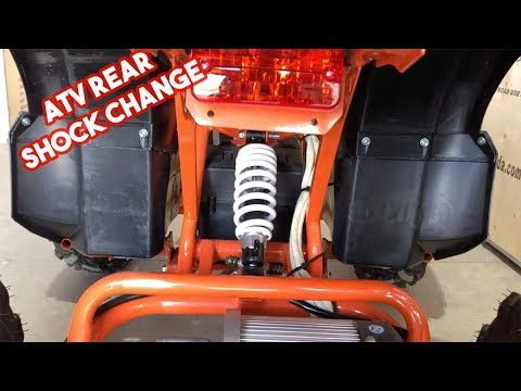 Repeat Changing the Rear Shock on your ATV - Grizzly Series