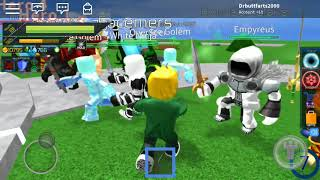 MC Gaming Let's play Roblox!:Summoner tycoon!!!