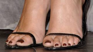 Repeat youtube video Charlize Theron - Celebrity Feet And Legs (HD) 2010