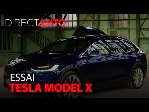 Essai - TESLA MODEL X : la révolution électrique !