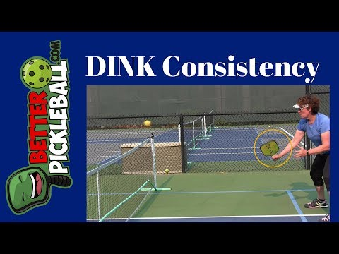 Pickleball Dink Shot-How to be consistent