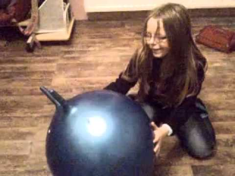 kleiner gummiball