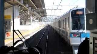 【小田急】登戸−成城学園前 急行・快速急行の並走