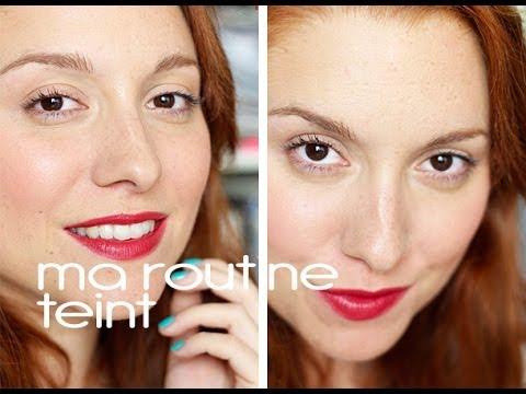 Ma routine teint + maquillage de tous les jours bio / naturel
