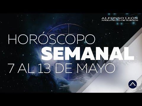 HORÓSCOPO SEMANAL | 7 AL 13 DE MAYO | ALFONSO LEÓN ARQUITECTO DE SUEÑOS