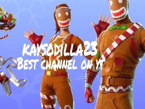 PLAYING FORTNITE W/FRIENDS JOIN UP/ ADD MY EPIC  KAYSODILLA23 ALSO SUB THANKS