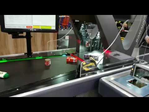 Checkout de Alta Velocidade Datalogic Jade X7