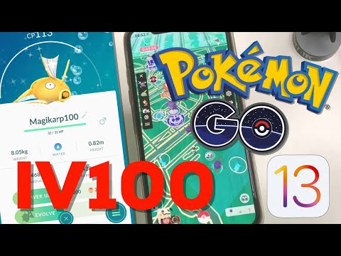 EASY WAY To Catch IV100 Pokemon GO