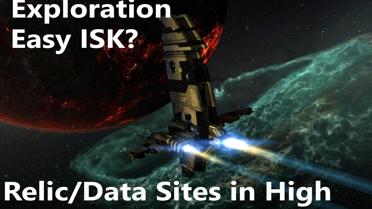 Eve Online - Exploration Relic/Data sites in High sec, is it worth it? is  it Easy ISK?
