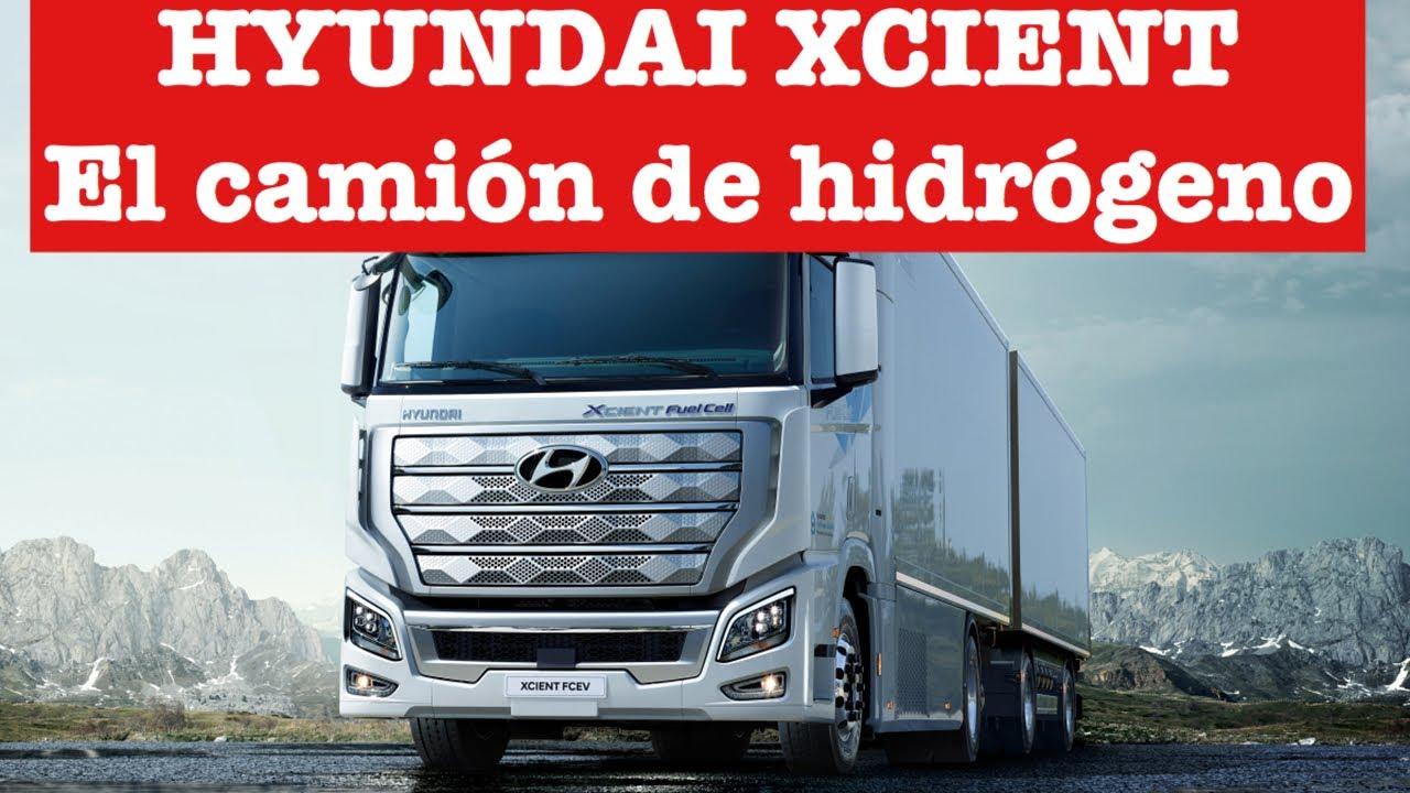 El camión de Hidrógeno es una realidad gracias Hyundai