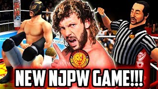 NEW NJPW KOS MOBILE GAME! THE NEWEST WRESTLING GAME!!!
