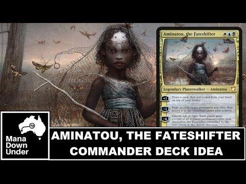MTG Commander Deck Idea - Aminatou, the Fateshifter (Blinking Fun)